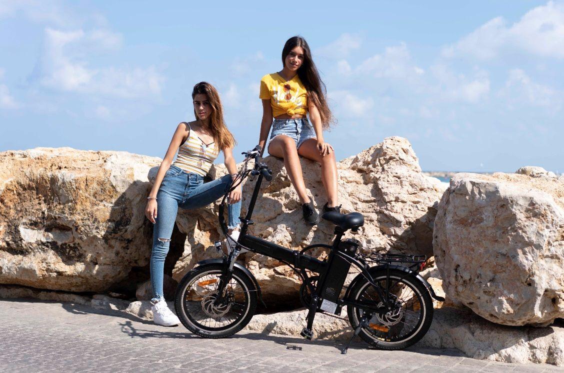 אופניים חשמליים ללא מע