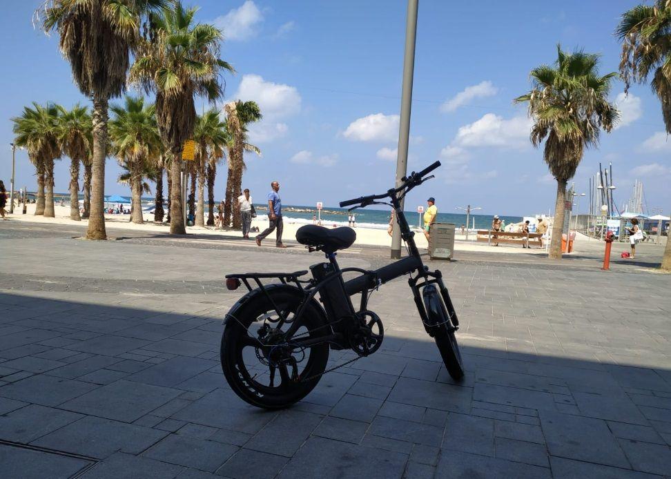 """אופניים חשמליים ללא מע""""מ ברשת עולם הקולנוע באילת"""