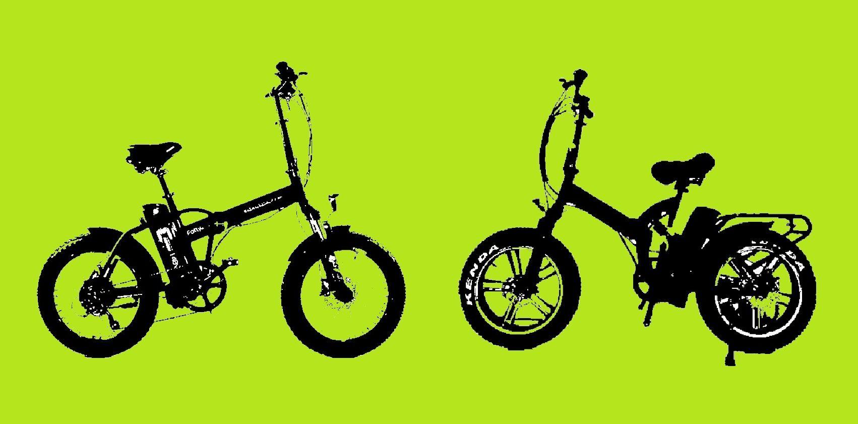 אופניים חשמליים שיכוך מלא מול זנב קשיח