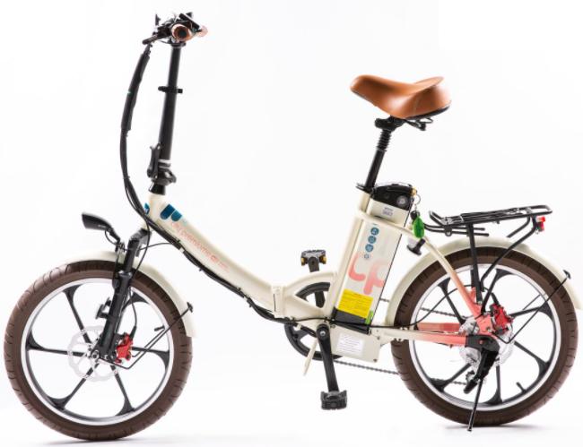 אופניים חשמליים גרין בייק סיטי פרמיום, אופניים חשמליות עם שלדה נמוכה, אופניים חשמליות שלדה בננה