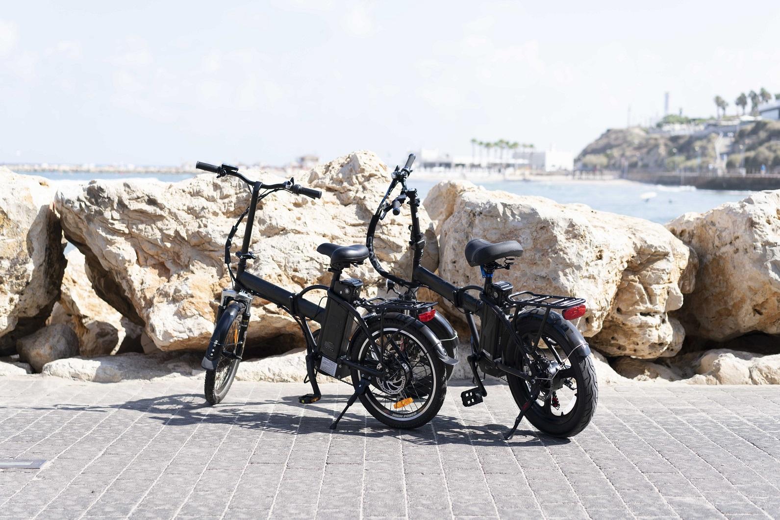 אופניים חשמליות עם אמפר גבוה