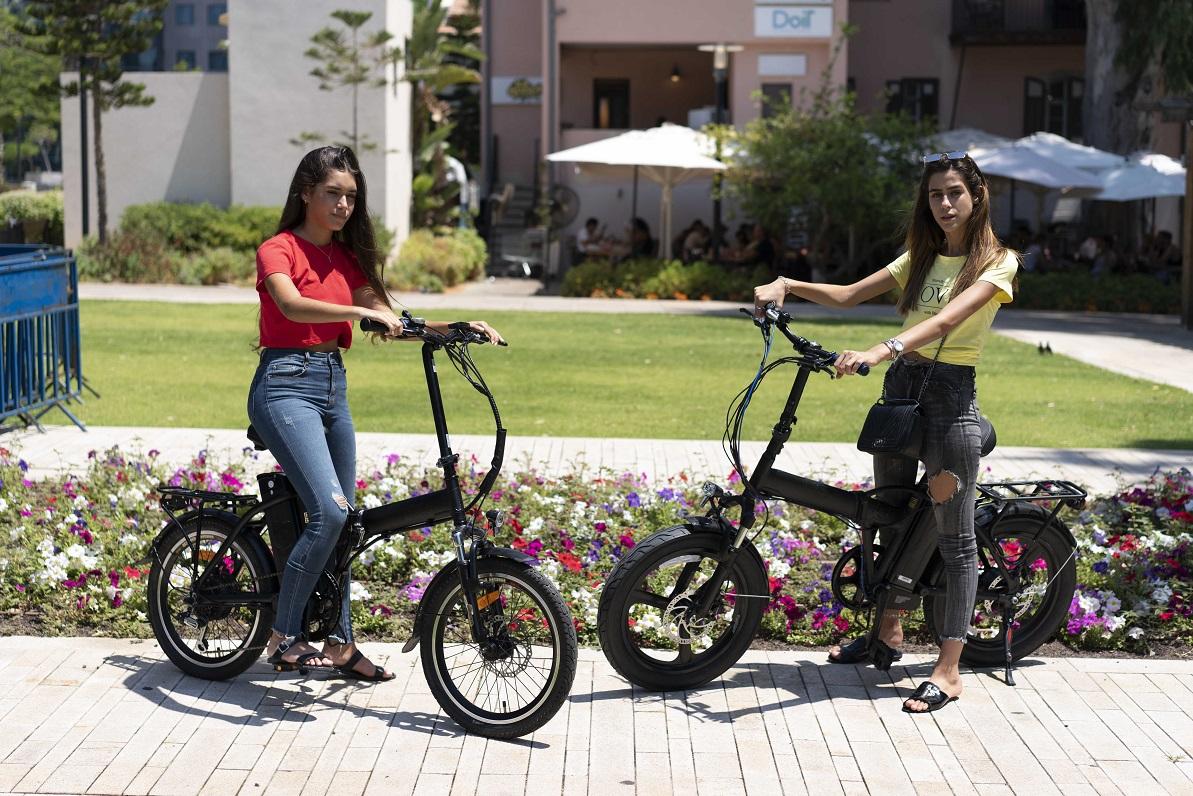 אופניים חשמליים עד 2,500 שקלים